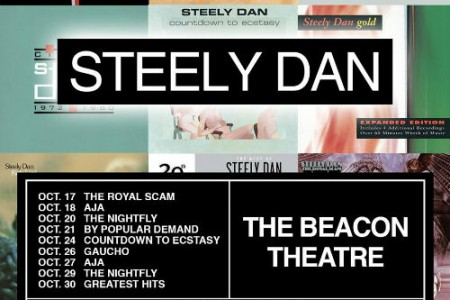 image for article Steely Dan Sets 2018 Tour Dates at the Beacon in NYC: Ticket Presale Code & On-Sale Info