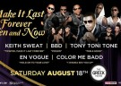 image for event Make It Last Forever: Keith Sweat, Bell Biv Devoe, Tony Toni Tone, En Vogue, and Color Me Badd