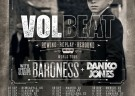 image for event Volbeat, Baroness, and Danko Jones