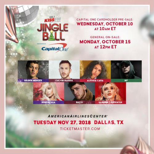 106 1 Kiss Fm Jingle Ball Shawn Mendes Calvin Harris Alessia