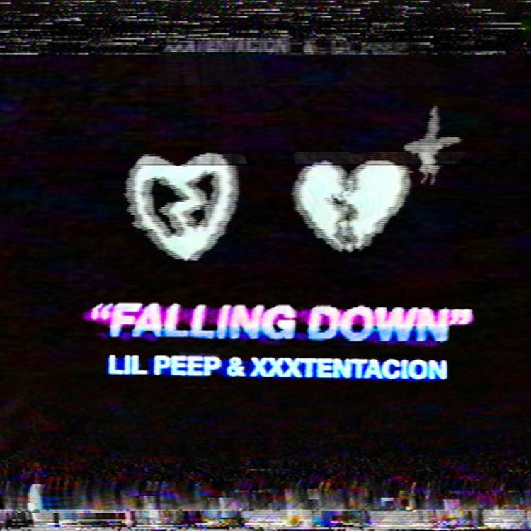 "image for article ""Falling Down"" - Lil Peep & XXXTentacion [YouTube Audio Single]"