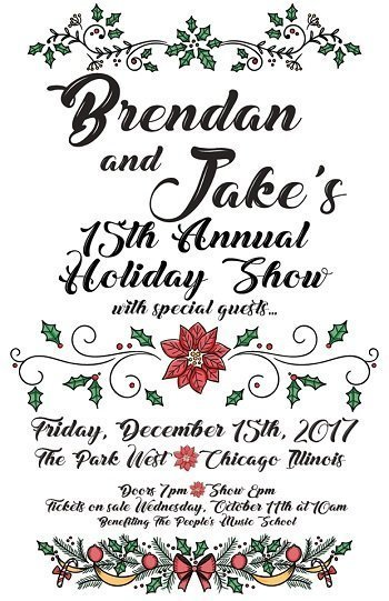 image for event 15TH ANNUAL HOLIDAY SHOW BRENDAN BAYLISS & JAKE CINNINGER