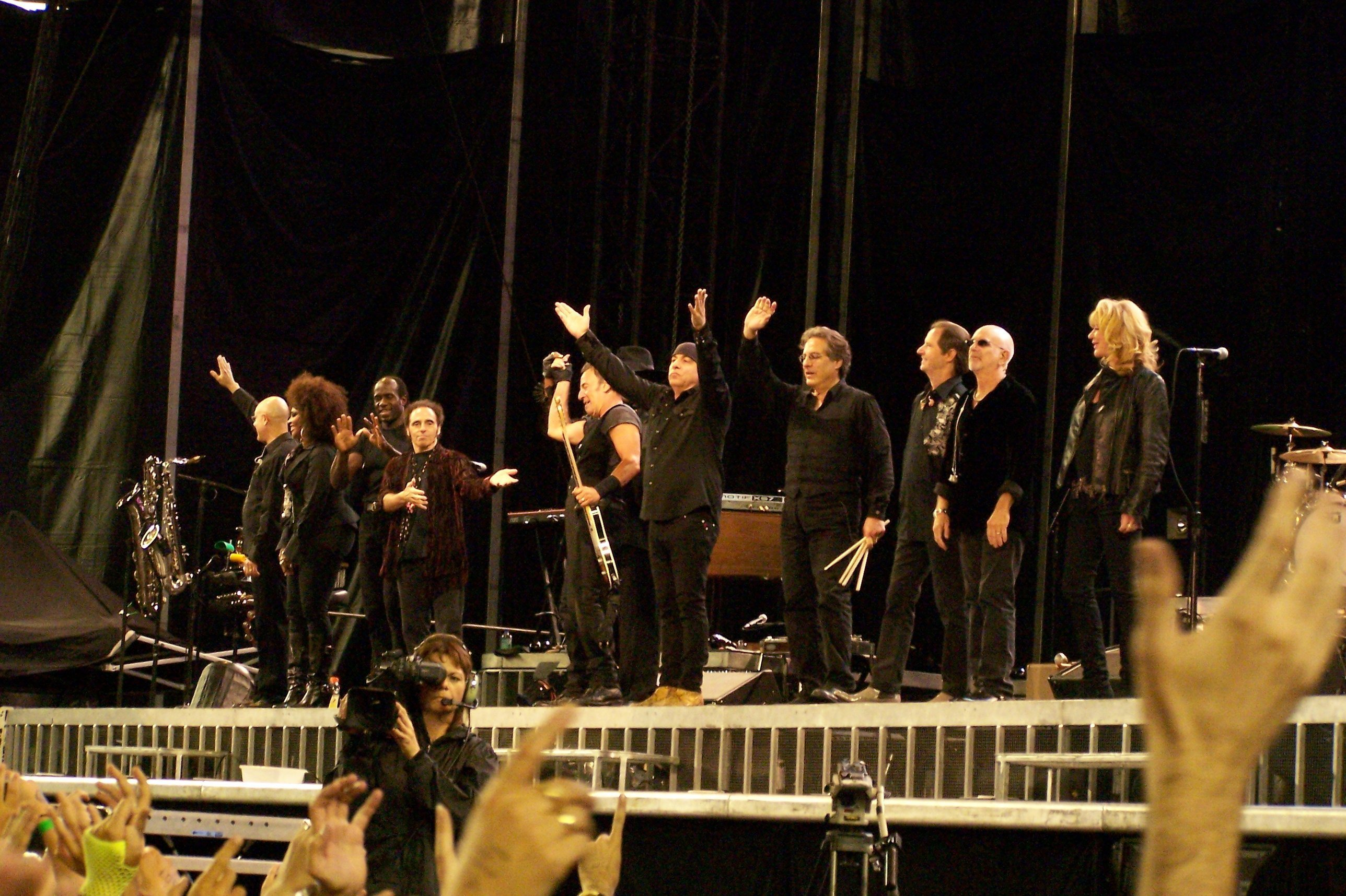 Bruce Springsteen & the E Street Band Official Photo