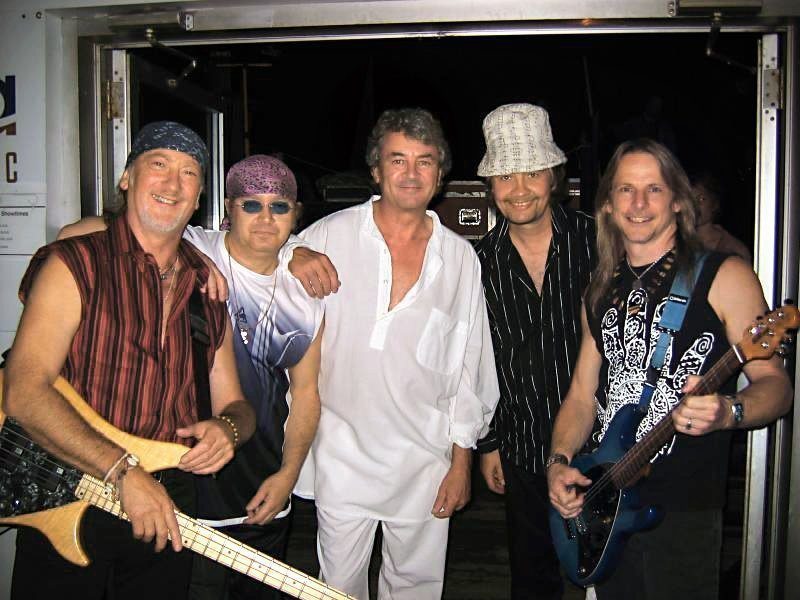 Deep Purple - Ian Paice, Roger Glover, Ian Gillan, Steve Morse, Don Airey