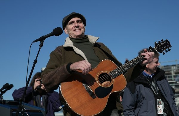 James Taylor at Presidential Inauguration