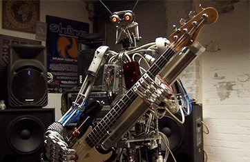 image for article Robot Band Shreds Heavy Metal Band [Youtube video]