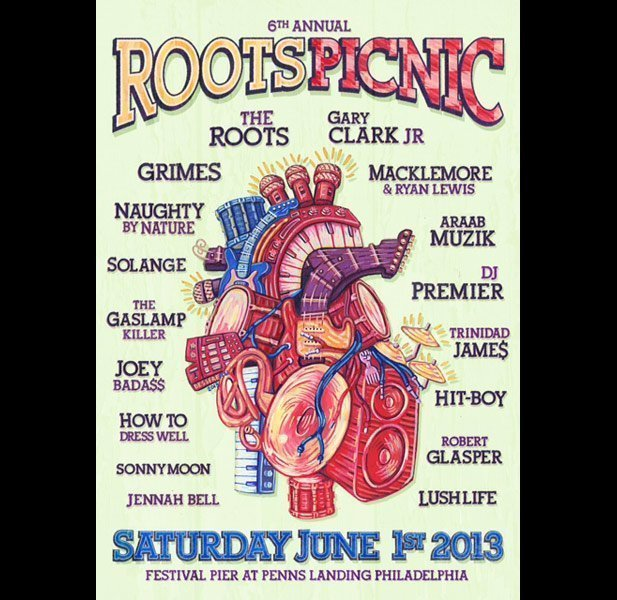 image for article 2013 Roots Picnic Lineup Announced