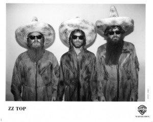 ZZ Top Official Photo