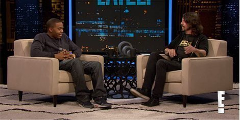 image for article Dave Grohl Interviews Nas on Chelsea Lately [E! Video]