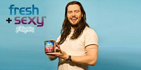 Andrew-WK-Playtex-Fresh-And-Sexy-Wipes