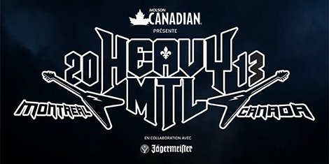 image for article Heavy MTL Festival: 2013 Lineup and Ticket Sales Announced