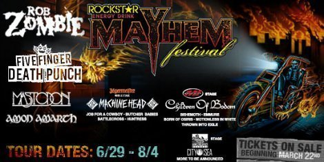 image for article Rockstar Energy Mayhem Fest Lineup & Dates