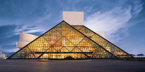 rock and roll hall of fame in cleveland, ohio