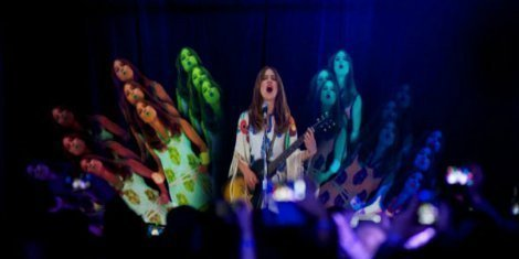 image for article Feist Plays Three Cities At Once... As A Hologram