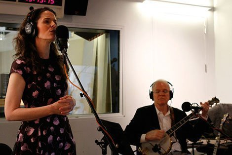 Steve-Martin-Edie-Brickell-In-Studio-Performance-Interview-WNYC-Soundcheck