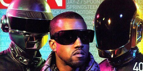 "image for article Kanye West ""Screaming Primally"" in Two New Songs with Daft Punk"