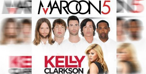 image for article Maroon 5 and Kelly Clarkson 2013 Tour Dates & Ticket Info
