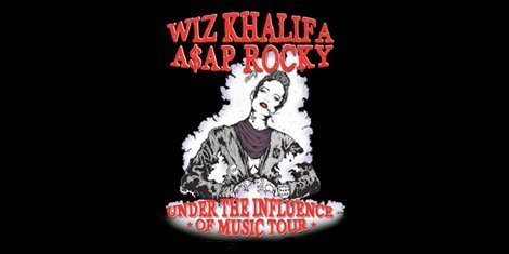 "image for article Wiz Khalifa & A$AP Rocky Headlining ""Under the Influence of Music"" Summer Tour"