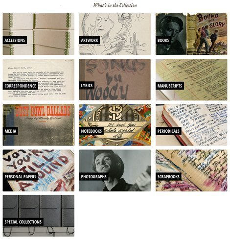woody-guthrie-center-archives-collection