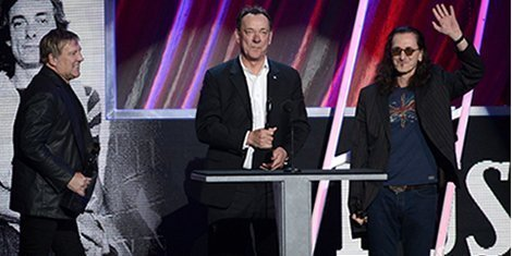 image for article Rush Acceptance Speech At Rock & Roll Hall Of Fame [YouTube Video]