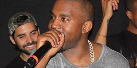 image for article Kanye West Discusses 'Yeezus' At Listening Party, Shares Tracklist