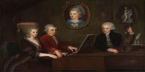 Mozart Family Portrait