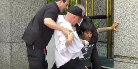 image for article Anthony Kiedis Fights With Rolling Stones Security [TMZ Video]