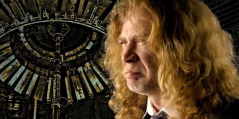 "image for article Dave Mustaine on Funny Or Die with Kenny G for ""Megadeth Wearhouse"""