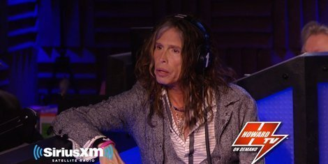 image for article Steven Tyler Talks With Howard Stern About Aerosmith And American Idol