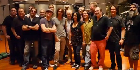 "image for article Watch The ""Man Of Steel"" Scoring Sessions With 12 Drummers"