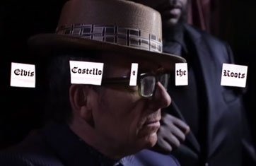 "image for article ""Walk Us Uptown"" - Elvis Costello and The Roots [Youtube Official Lyric Video]"