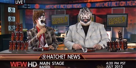 image for article ICP Announces 2013 Gathering Of The Juggalos Lineup, Nation Shudders [28 Minute YouTube Video]