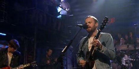 Quot Supersoaker Quot Kings Of Leon Jimmy Fallon Live