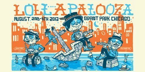 image for article Official 2013 Lollapalooza Live Streaming Webcast This Weekend [YouTube Video & Full Schedule]