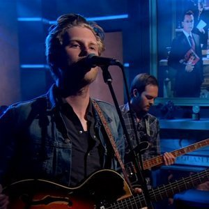 "image for article ""Stubborn Love"" & ""Submarines"" - The Lumineers [Colbert Report Videos 7.29.13]"