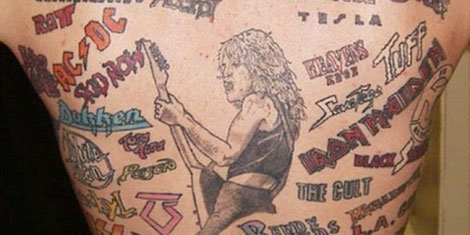 The 13 Worst Music Tattoos Of All Time | Zumic | Music News, Tour ...