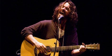 "image for article Chris Cornell Announces Acoustic ""Second Songbook Tour"""