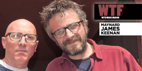 image for article Tool's Maynard James Keenan Interviewed By Marc Maron On WTF Podcast