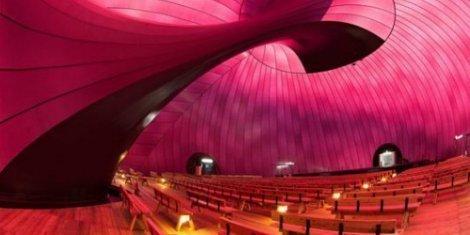 Inside Japan's inflatable concert venue
