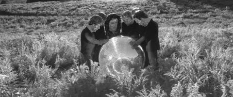 arcade-fire-reflektor-music-video-band-disco-ball
