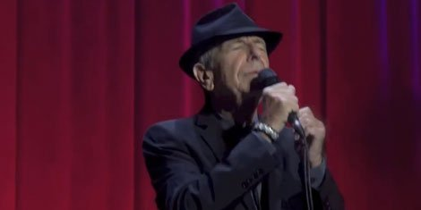 "image for article ""I've Got A Little Secret"" - Leonard Cohen [YouTube Live Video]"