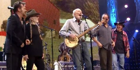 "image for article ""This Land Is Your Land"" - Pete Seeger Live At Farm Aid 2013 [YouTube Official Video]"