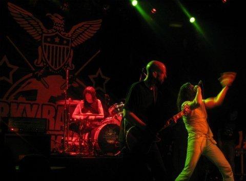 Marky-Ramone-Andrew-WK-Irving-Plaza-band-singing-2013