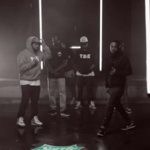 "image for article ""TDE Cypher"" - Kendrick Lamar, Schoolboy Q, Ab-Soul, Jay Rock, Isaiah Rashad at 2013 BET Hip-Hop Awards [BET Official Video]"