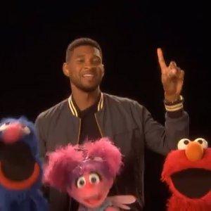 Usher-Sesame-Street