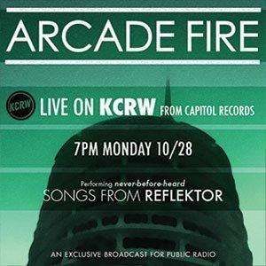 arcade-fire-kcrw-npr-2013-capitol-records