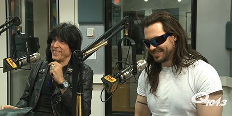 image for article Marky Ramone & Andrew W.K. Interviewed on Radio and TV [Videos]