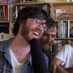 "image for article ""On A Balcony"" ""Pink Slips"" & ""Down Down The Deep River"" - Okkervil River NPR Music Tiny Desk Concert [YouTube Video]"