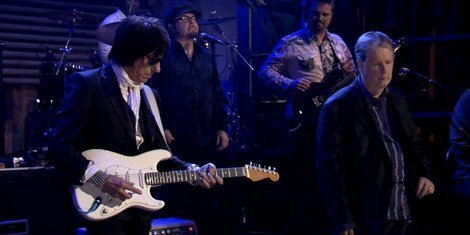 "image for article ""Our Prayer"" & ""Danny Boy"" - Brian Wilson & Jeff Beck [Fallon Live Performance Video]"