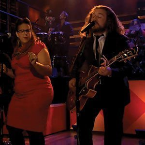 "image for article ""Trouble Sleep"" - My Morning Jacket ft Brittany Howard and Merrill Garbus [Jimmy Fallon Video]"